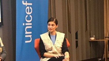 Anne Curtis officially conferred as UNICEF national goodwill ambassador