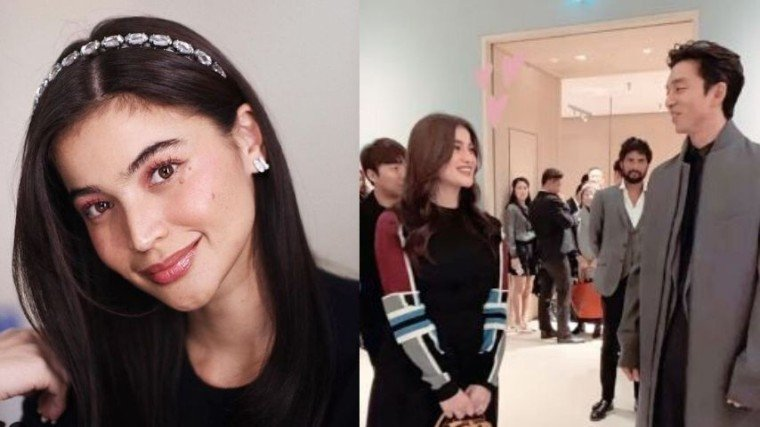 Actress and TV host Anne Curtis's dream of meeting Korean star Gong Yoo finally came true.