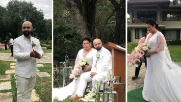 Lotlot de Leon weds Lebanese fiancé in intimate Batangas ceremony