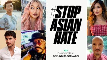 Hollywood celebrities of Asian descent band together to #StopAsianHate