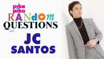 JC Santos answers Random Questions from Pikapika!