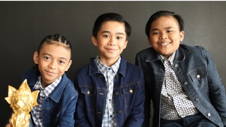 TNT Boys (L-R) Keifer Sanchez, Mackie Empuerto, and Francis Concepcion are preparing for their upcoming concert on November 30.