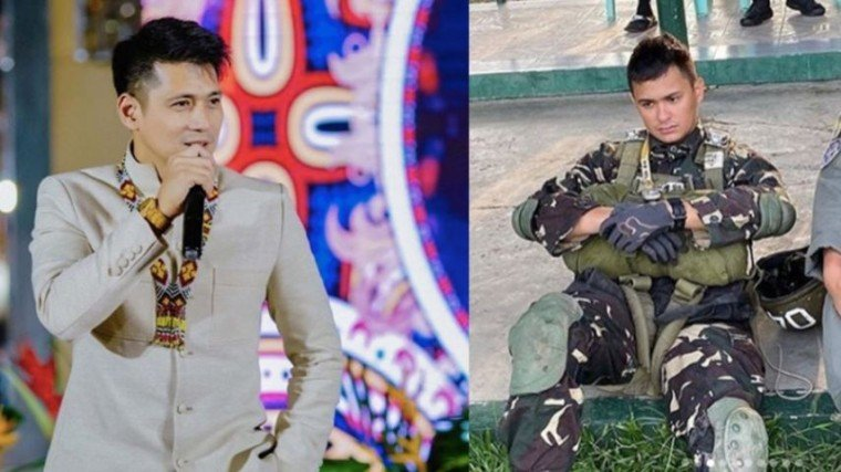 Robin Padilla encourages young Filipinos to follow Matteo Guidicelli's footsteps in serving the country.