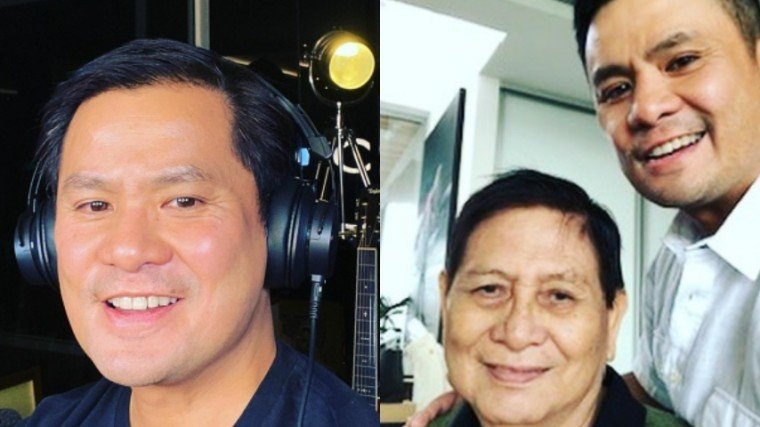 Ogie Alcasid announces the sad passing of his father, Herminio Alcasid, Sr.
