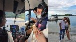 Pika's Pick: John Estrada and family go on a helicopter ride to vacation in his friend Willie Revillame's private resort in Occidental Mindoro