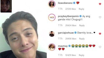 Celebrities get super kilig over Kathryn Bernardo's heart melting message to Daniel Padilla