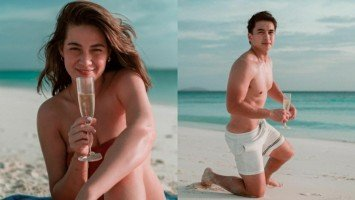 Are Bea Alonzo and Dominic Roque vacationing together in Amanpulo?