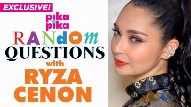 Exclusive: Ryza Cenon answers pikapika's Random Questions