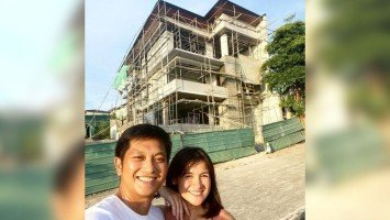 Pika's Pick: Camille Prats and husband VJ Yambao's dream house is at finishing stages