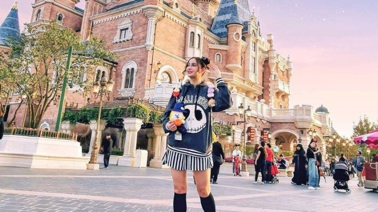 Arci Muñoz crossed out another fulfilled dream on her bucket list!