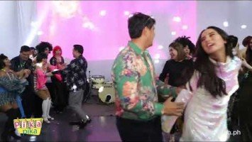 Juliana and Richard Gomez's Disco Dance Number