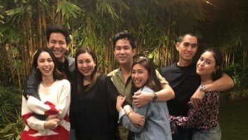 Marjorie Barretto threw a Valentine's Day dinner for all her daughters and their boyfriends