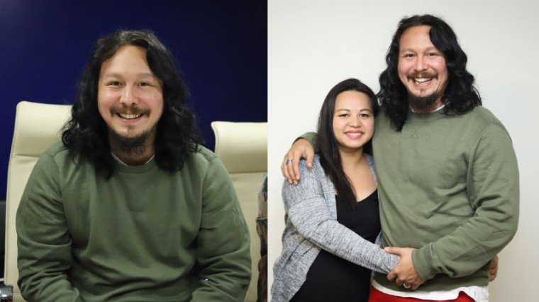"Baron is set to became a daddy again, this time with his wife Jamie. And he's excited. ""This is the first time na magiging hands-on daddy ako, it's the first time na tutulong ako sa [pag-aalaga]..."""