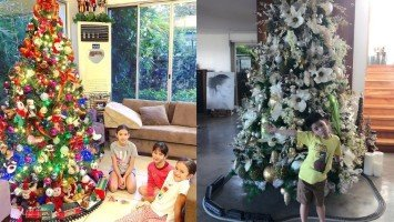 These celebrities' Christmas trees are super peg-worthy