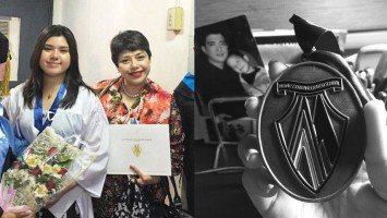Francis and Pia Magalona's bunso graduates from Senior High