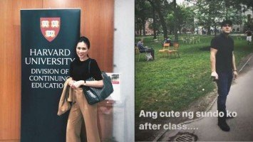 "LOOK: Toni Gonzaga calls husband Paul Soriano her ""cute sundo"" after first day at Harvard University!"