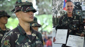 Matteo urges Pinoys to be more appreciative of soldiers