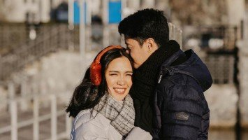LOOK: Aicelle Santos and Mark Zambrano's lovely pre-wedding photos in Switzerland