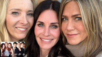 Cast ng Friends, nag-semi reunion sa birthday ni Courteney Cox