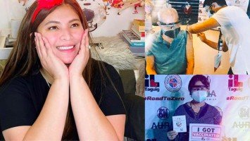"Pika's Pick: Angel Locsin, happy for being able to convince  ""anti-vaxxer"" parents to get their Covid-19 jabs"