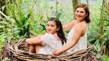 Vina Morales spends daughter Ceana's birthday in Bali