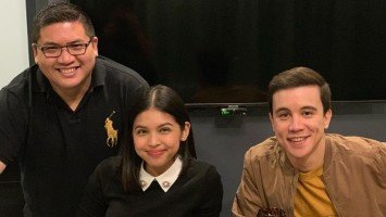 Arjo Atayde, Maine Mendoza photographed together at Jack Em Popoy appreciation party
