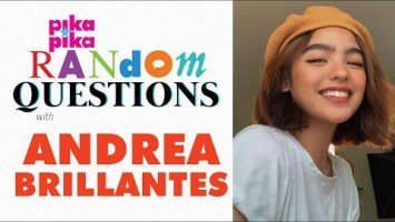 EXCLUSIVE: Andrea Brillantes answers Random Questions from pikapika