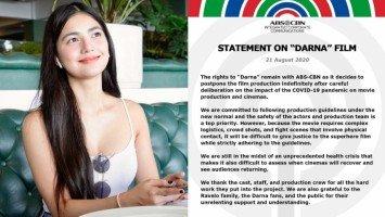 "Jane De Leon expresses sadness over postponement of ""Darna"""