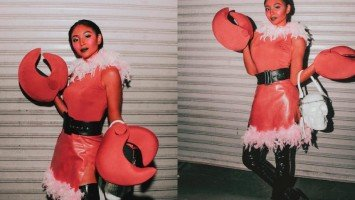 Nadine Lustre dressed up as this iconic cartoon character on her birthday