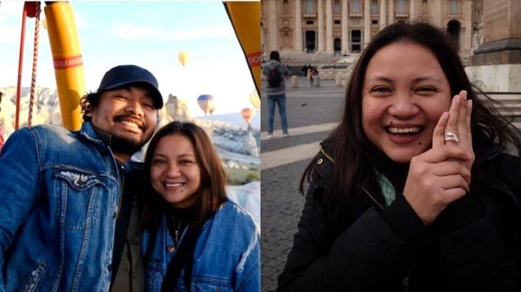 Talent agency Cornerstone Entertainment, Inc. just announced the engagement of film directors Dan Villegas (English Only, Please, Exes Baggage) and Antoinette Jadaone (That Thing Called Tadhana, Alone/Together). Congratulations to this talented couple!
