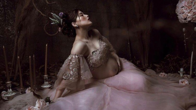 Kylie Padilla shares photos of her stunning second maternity shoot!