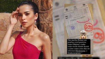 Kelley Day at ilang kandidata ng Miss Eco International sa Egypt, nag-positive sa COVID-19?