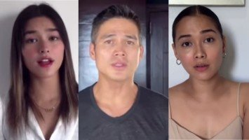 Piolo Pascual, Maja Salvador, and Liza Soberano lead Star Magic artists featured in an inspiring music video about faith and hope