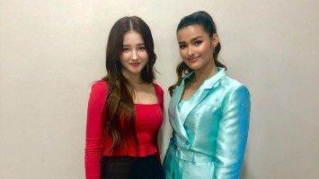"Pika's Pick: Liza Soberano finally meets her K-pop ""look alike,"" MOMOLAND's Nancy McDonie"