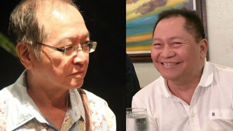 Direk Mel Chionglo (left) and Isah Red both passed on past 12 midnight today. A complete opposite, both of them share one thing in common: a deeply-rooted love for the showbiz industry.