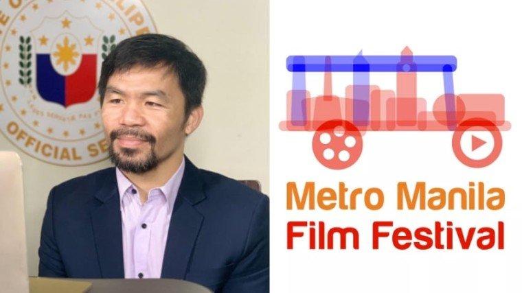 PHOTOS: @mannypacquiao on Instagram & Metro Manila Film Festival on Facebook