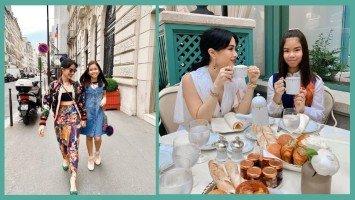 LOOK: Heart Evangelista and Chiz Escudero's daughter Chesi enjoy Paris together!