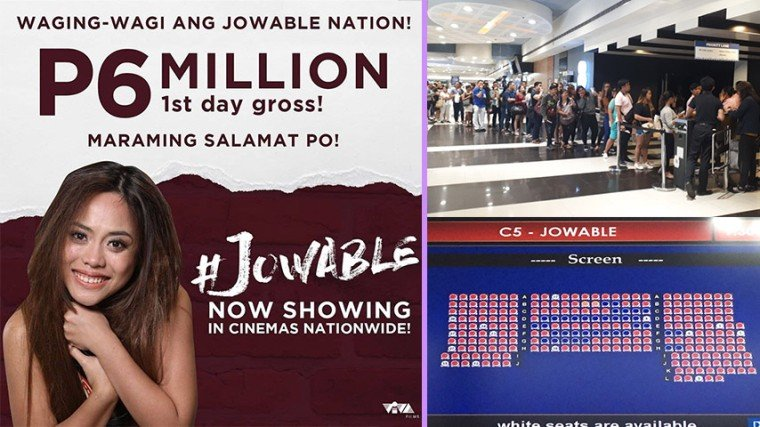 #Jowable proves it is a force to be reckoned with with its overnight success of earning P6 million on its first day! See below for more details about its triumph!