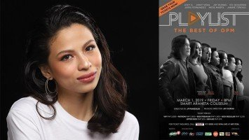 "Janine Teñoso on working with veteran singers: ""I just used to listen to them on the radio..."""