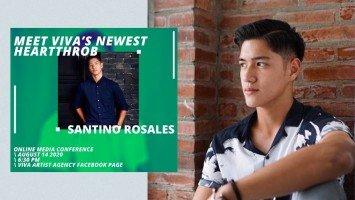 Pika's Pick: Santino Rosales is finally joining showbiz through the Viva Artists Agency