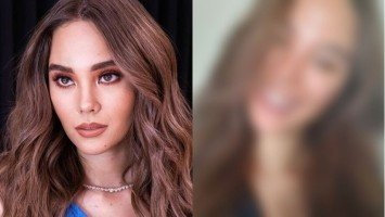 """Pika's Pick: Catriona Gray posts photo of her """"no make-up"""" look and we are charmed by it"""