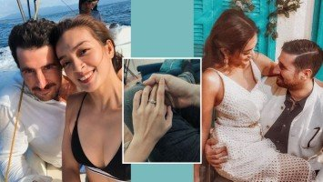 LOOK: Ina Feleo is now engaged to Italian boyfriend!