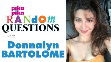 EXCLUSIVE: Donnalyn Bartolome answers Random Questions from pikapika!
