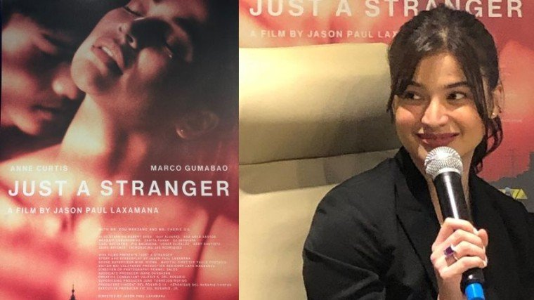 Anne Curtis, lead star of Just A Stranger opposite hunk actor Marco Gumabao, says her husband Erwan approves of her sexy scenes in the films. She says he let him read the script and he found it tasteful.