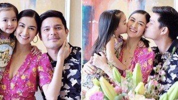 Dingdong, sinurpresa si Marian sa kanyang 34th birthday