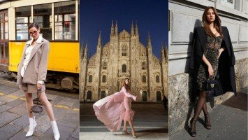 TRAVEL TUESDAY | 13 times Catriona Gray added her own sprig of beauty in wondrous Milan