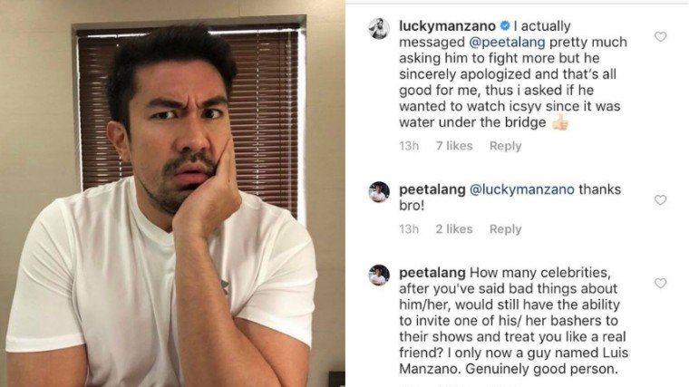 PHOTO: @luckymanzano on Instagram