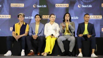IN PHOTOS: Sunlife presents Kaakbay campaign with Piolo & Inigo Pascual, Enchong Dee, Matteo Guidicelli and Charo Santos-Concio