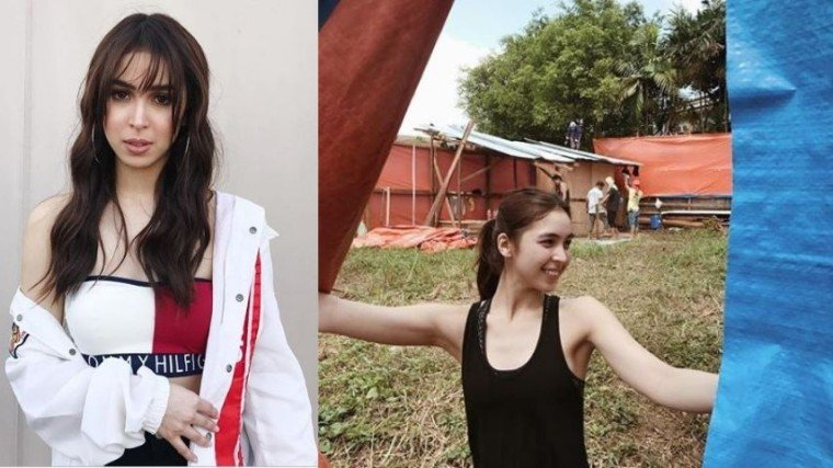 SHE'S READY! Julia Barretto is about to live in the independent world when she moves into her newly-built home. Congratulations, Julia!