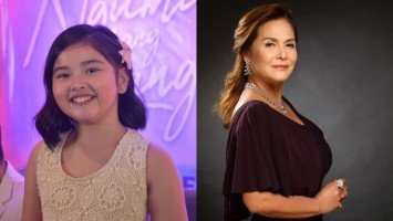 Child star Sophia Reola says acting with veteran actress Pilar Pilapil still makes her so tensed that her tears won't even fall!